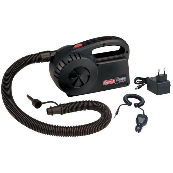 Coleman - Quick Charge 12v Battery or 240v Mains Electric Air Inflation Pump
